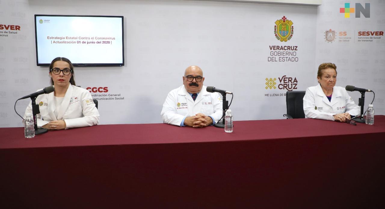 En un día se registran 291 nuevos casos de COVID-19 en Veracruz;  ya suman cuatro mil 8 y 558 muertos