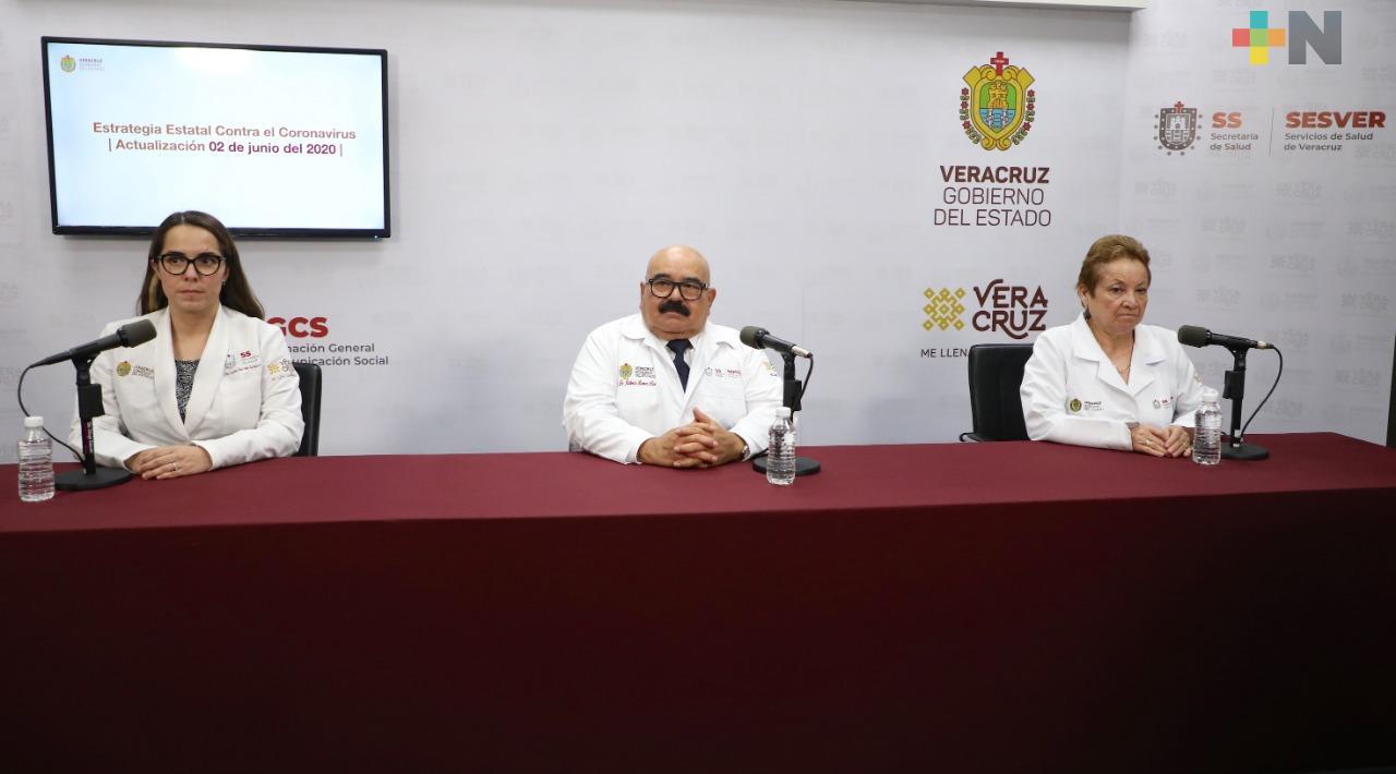 Hay 301 nuevos casos de COVID-19 en Veracruz