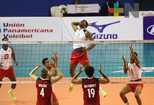 En suspenso, Copa Panamericana Varonil de Voleibol