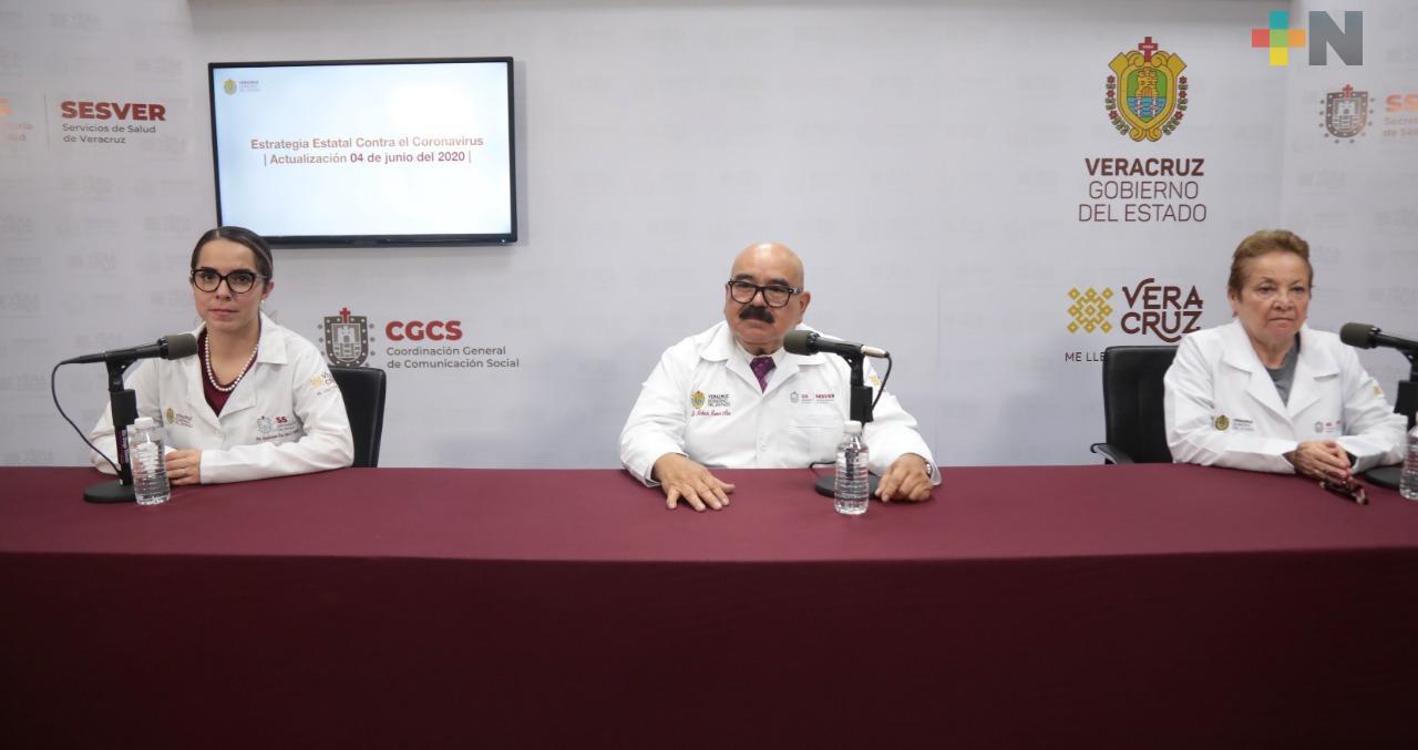 Hay 229 nuevos casos de COVID-19 en Veracruz