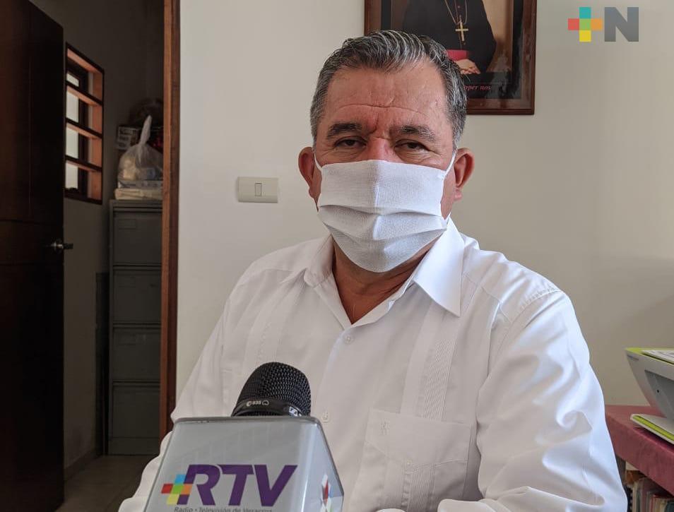Iglesia católica celebra misas con medidas de sanidad requeridas: José Manuel Suazo