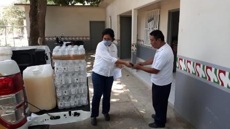 Jurisdicciones sanitarias orientan en municipios sobre prevención y control del COVID-19