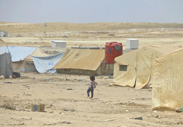 Bachelet pide sacar a los ciudadanos extranjeros atrapados en campos de desplazados de Siria