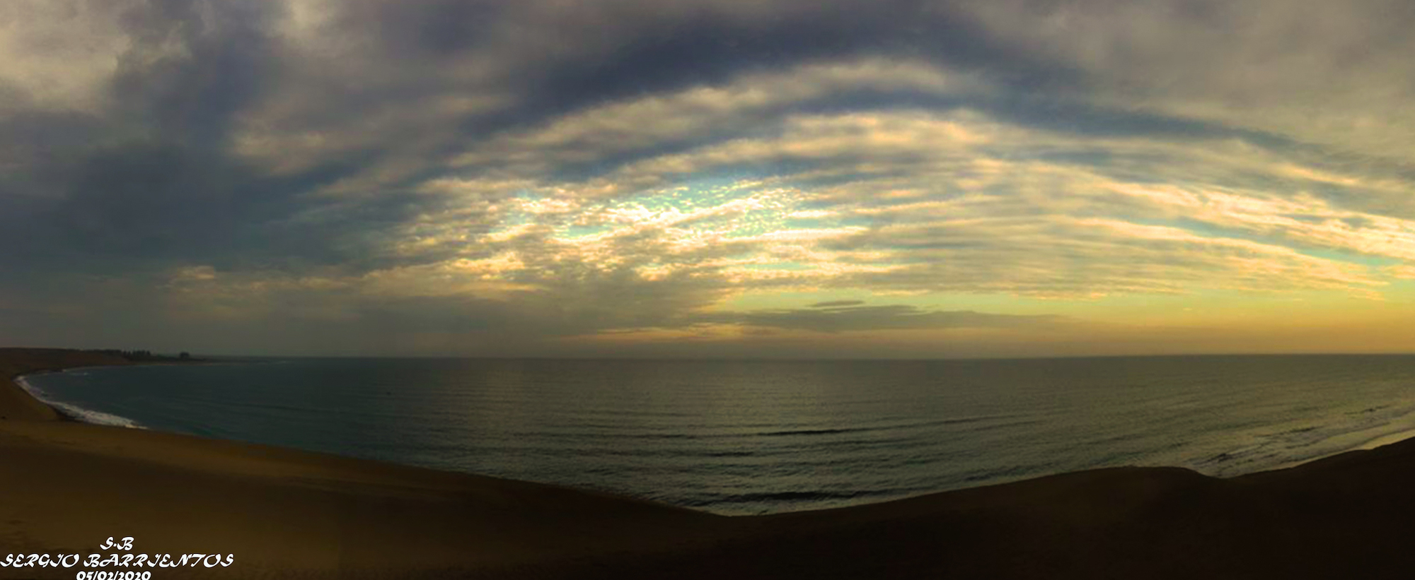 Panorámica de playa de Chachalacas