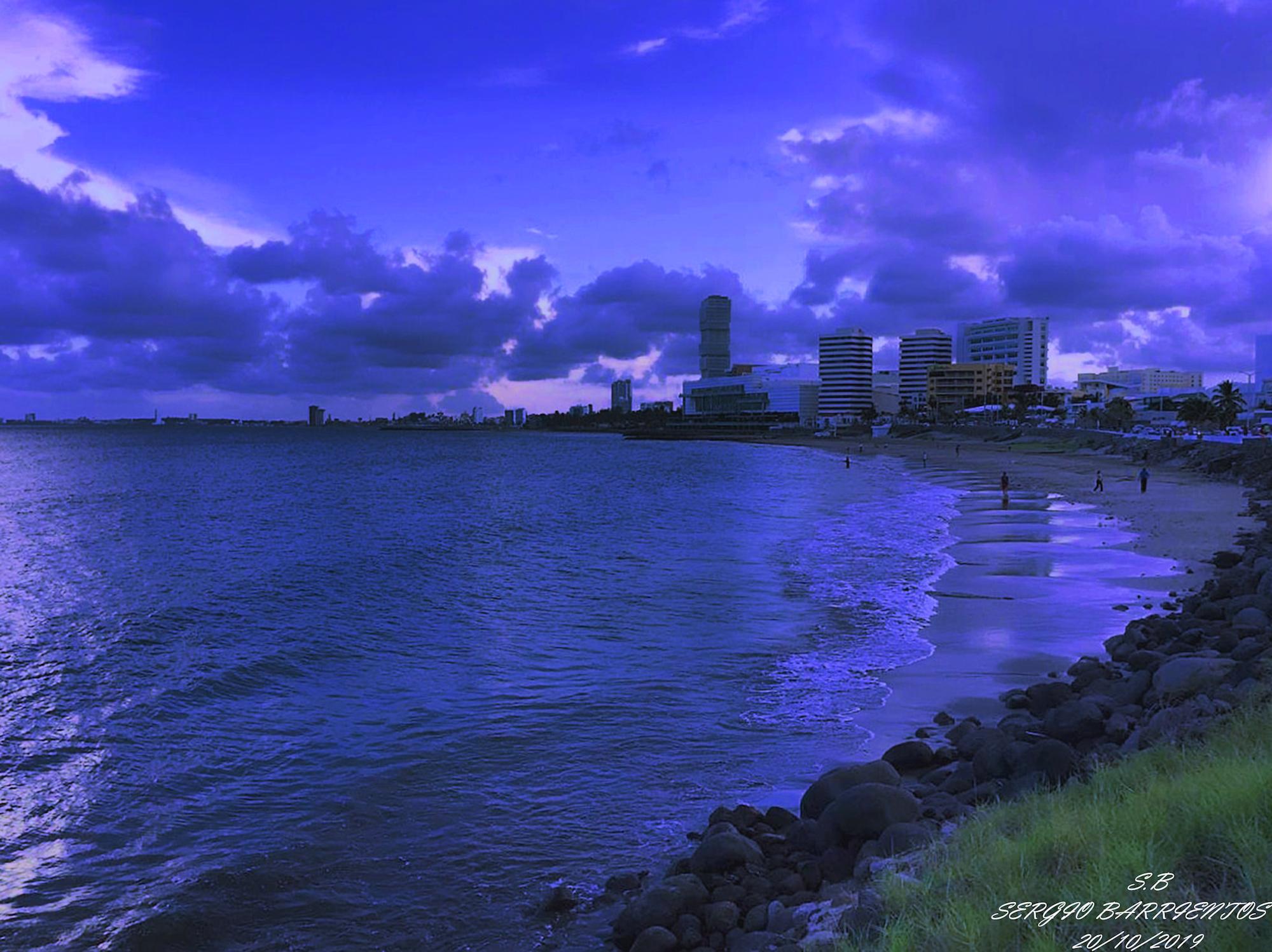 Playa en el municipio de Boca del Río