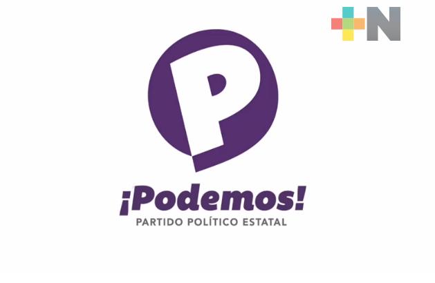 "Partido Político ""Podemos"" espera conformar 212 Comités Directivos Municipales para enfrentar proceso electoral"