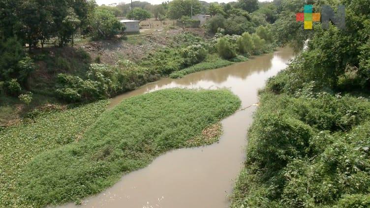 Autoridades de Medellín pendientes por posible crecida del río Jamapa