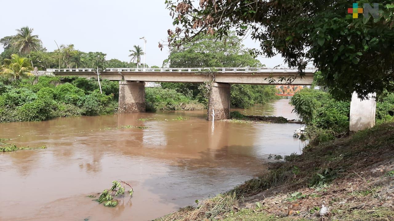 Río Jamapa aún sin representar un riesgo: PC Medellín