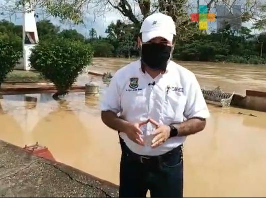 Nueve colonias del municipio de Agua Dulce fueron afectadas por las lluvias recientes