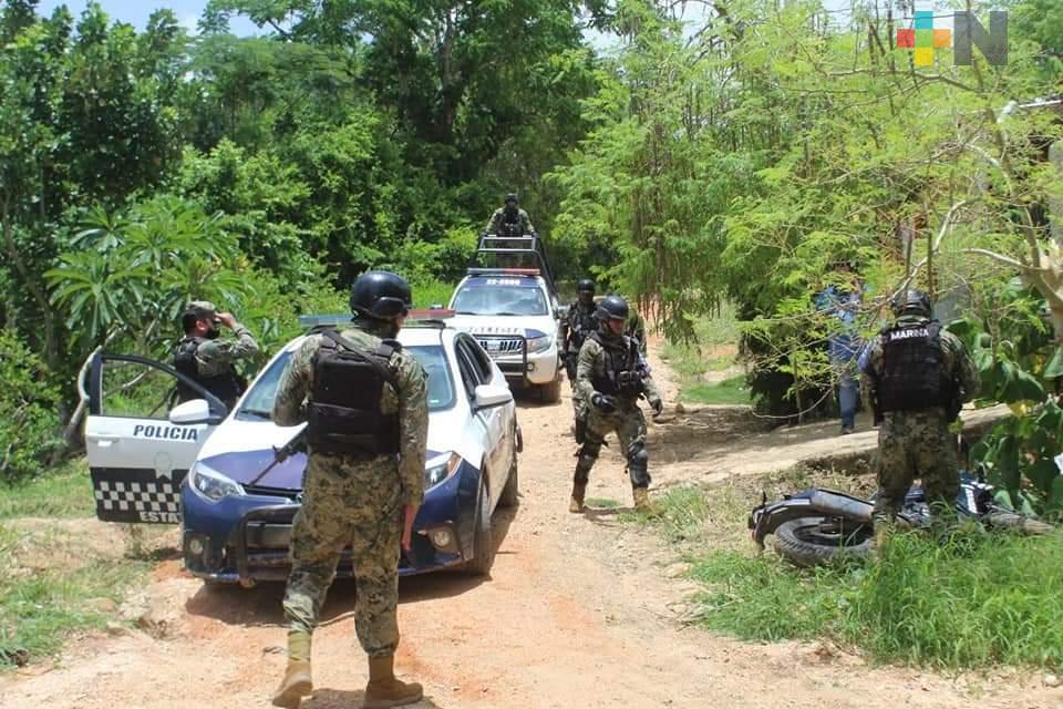 Detienen a presuntos líder del CJNG en Acayucan