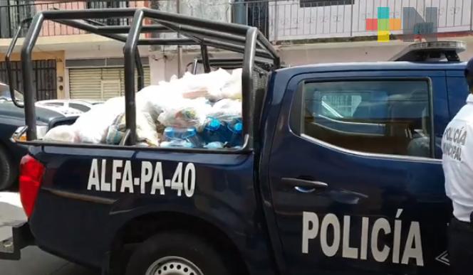 Durante pandemia, autoridades de Orizaba continúan entregando despensas a domicilio