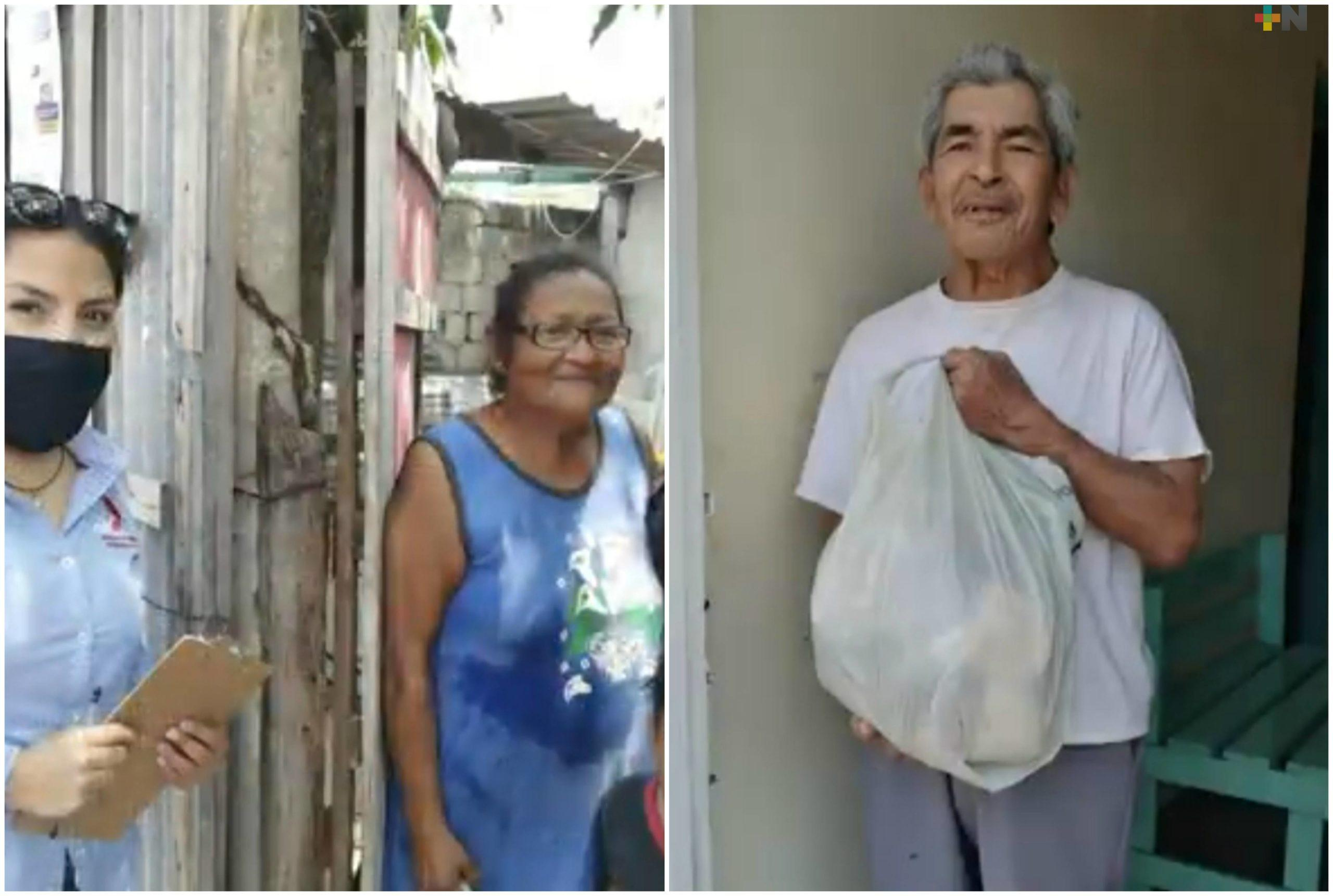 ADEMM ha apoyado a 300 familias veracruzanas con despensas alimenticias