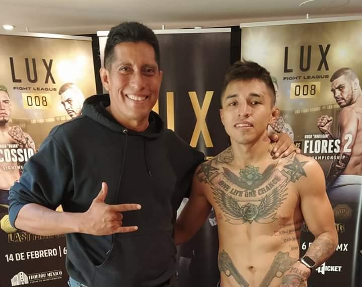 Emilio Cuéllar anhela convertirse en el mejor peleador de México