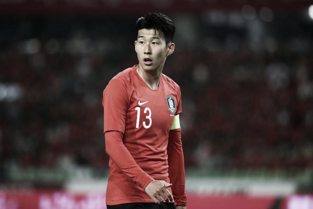 Heung Min Son reconoce que hacer su servicio militar fue duro