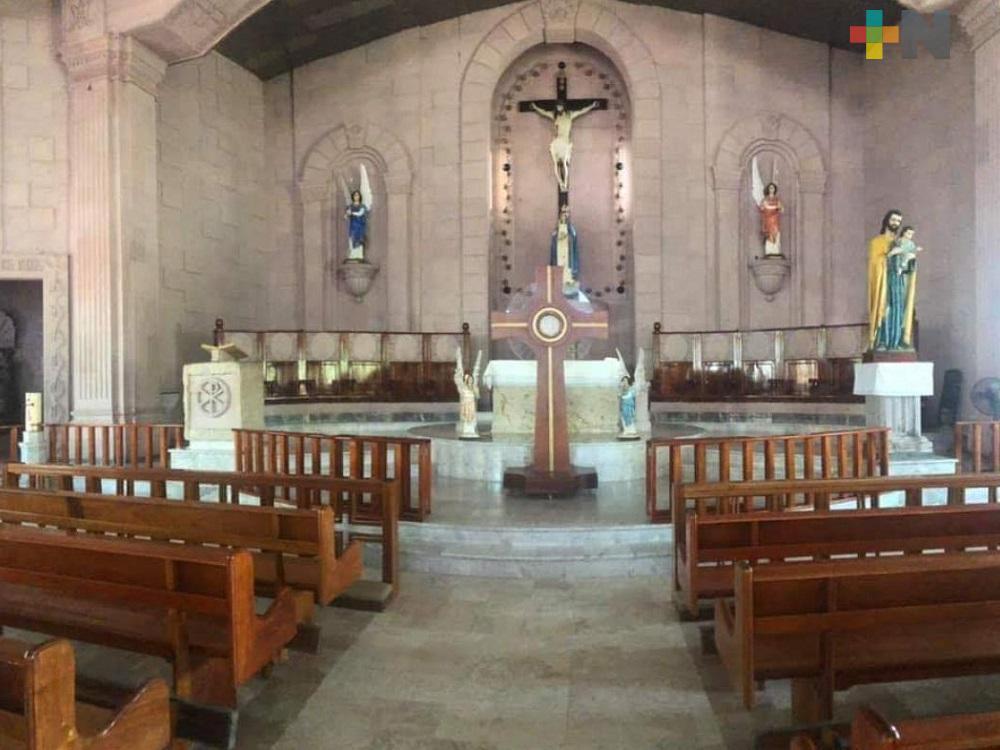 Apertura de iglesias católicas, se llevará a cabo conforme los municipios cambien de color en semáforo epidemiológico