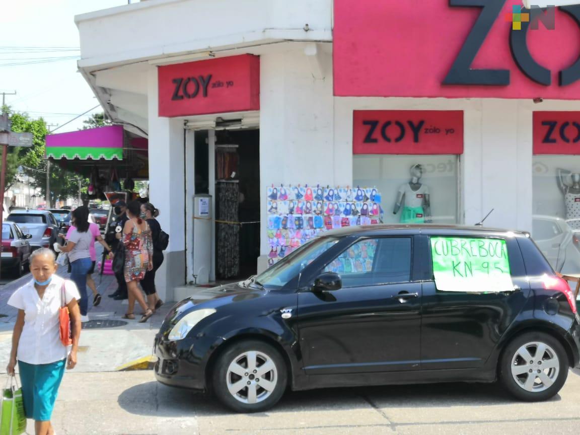 Abren más negocios en el centro de Coatzacoalcos