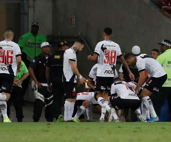 Vasco da Gama reporta 16 jugadores con COVID-19