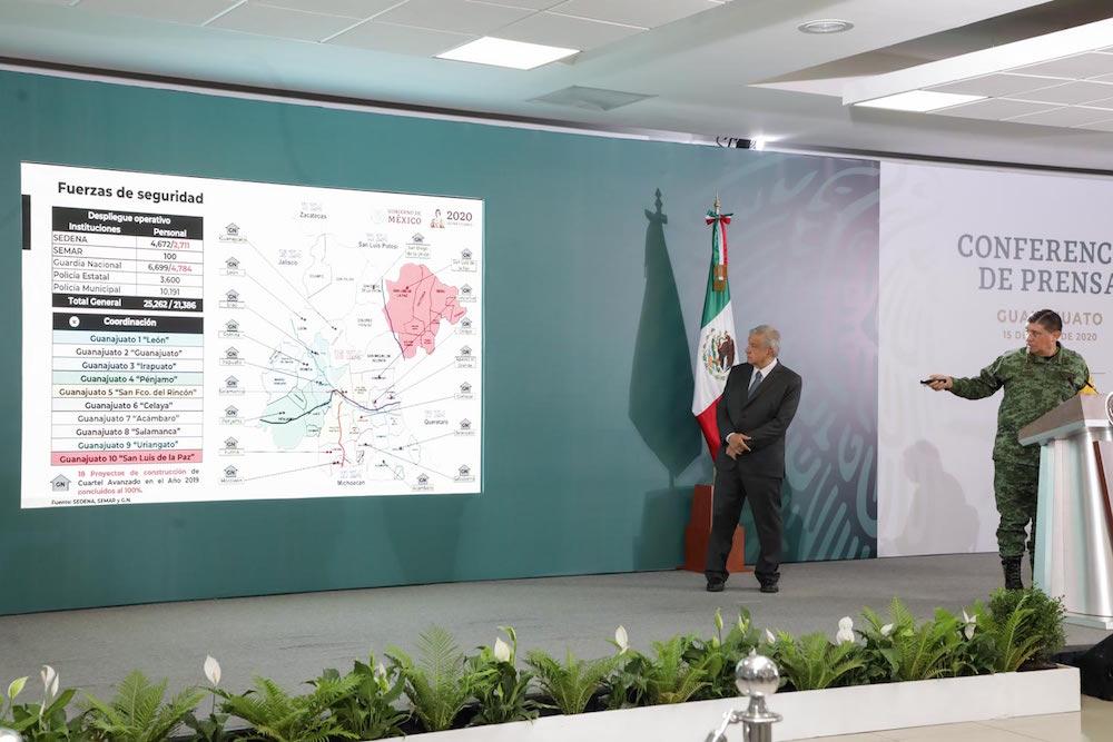 Presidente acuerda con gobernador de Guanajuato trabajar en coordinación para garantizar paz en el estado