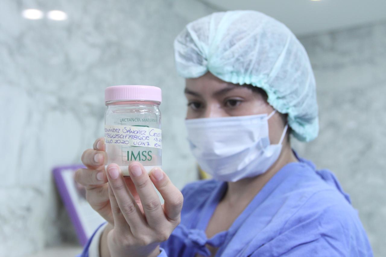 IMSS destaca la importancia de contar con bancos de leche materna