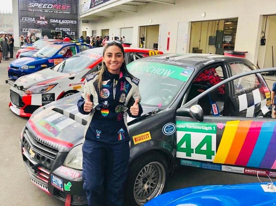 Laura Sanz va por el triunfo en reanudación de Copa Notiauto