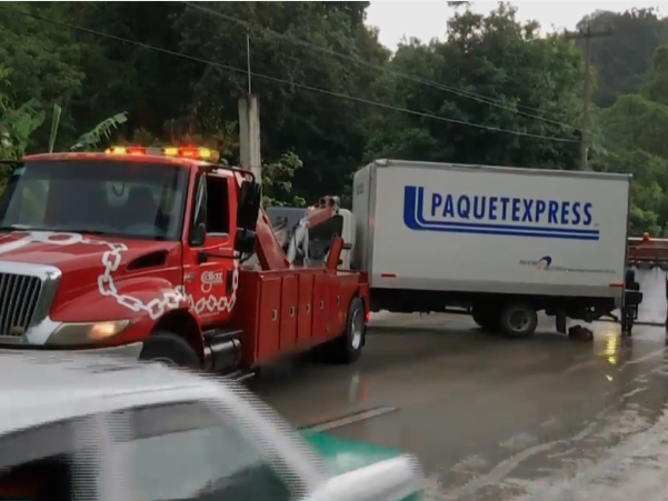 Accidente en Coatepec
