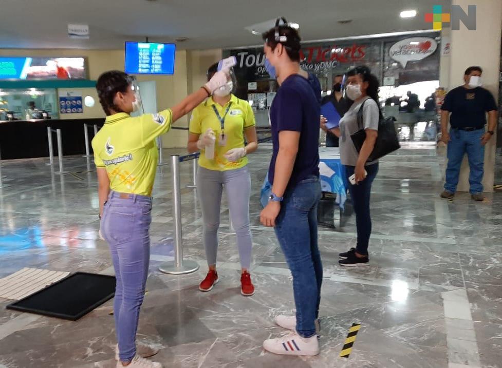 Realizan simulacro de ingreso al Acuario de Veracruz con protocolos sanitarios