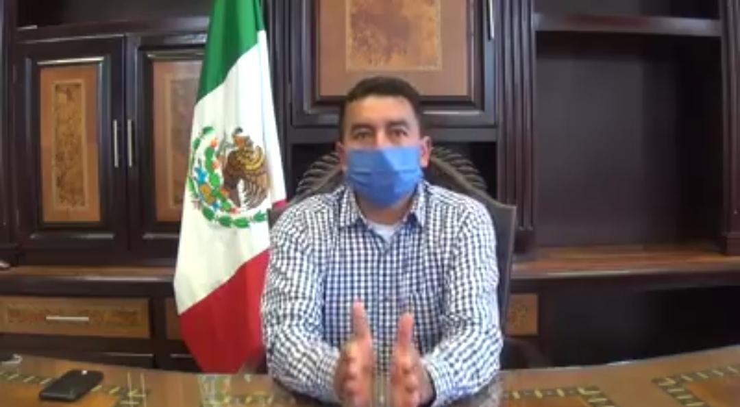 Anuncia ayuntamiento de Las Vigas el uso obligatorio de cubrebocas