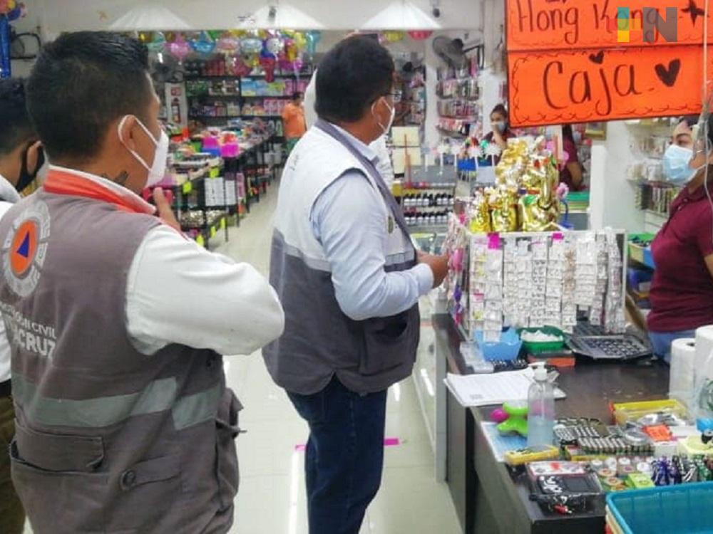 Ayuntamiento de Minatitlán y Cofepris realizarán cierre de comercios no esenciales