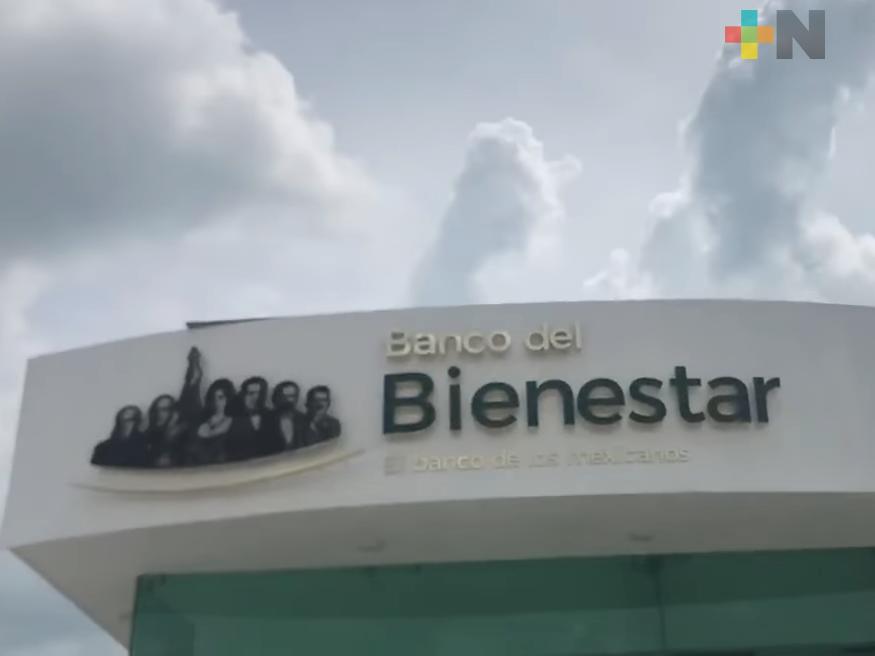 Avanza construcción de dos sucursales del Banco de Bienestar en Veracruz