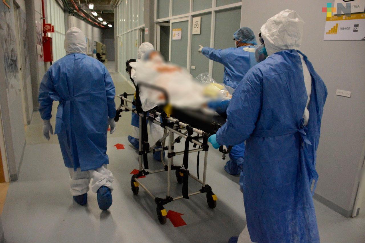 Inicia operaciones el Centro de Atención Médica Expandida COVID-19 Velódromo de Xalapa