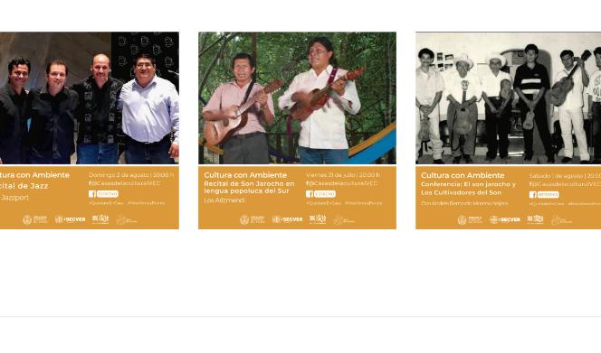 Ofrece IVEC un fin de semana artístico desde la página de Facebook de Casas de la Cultura