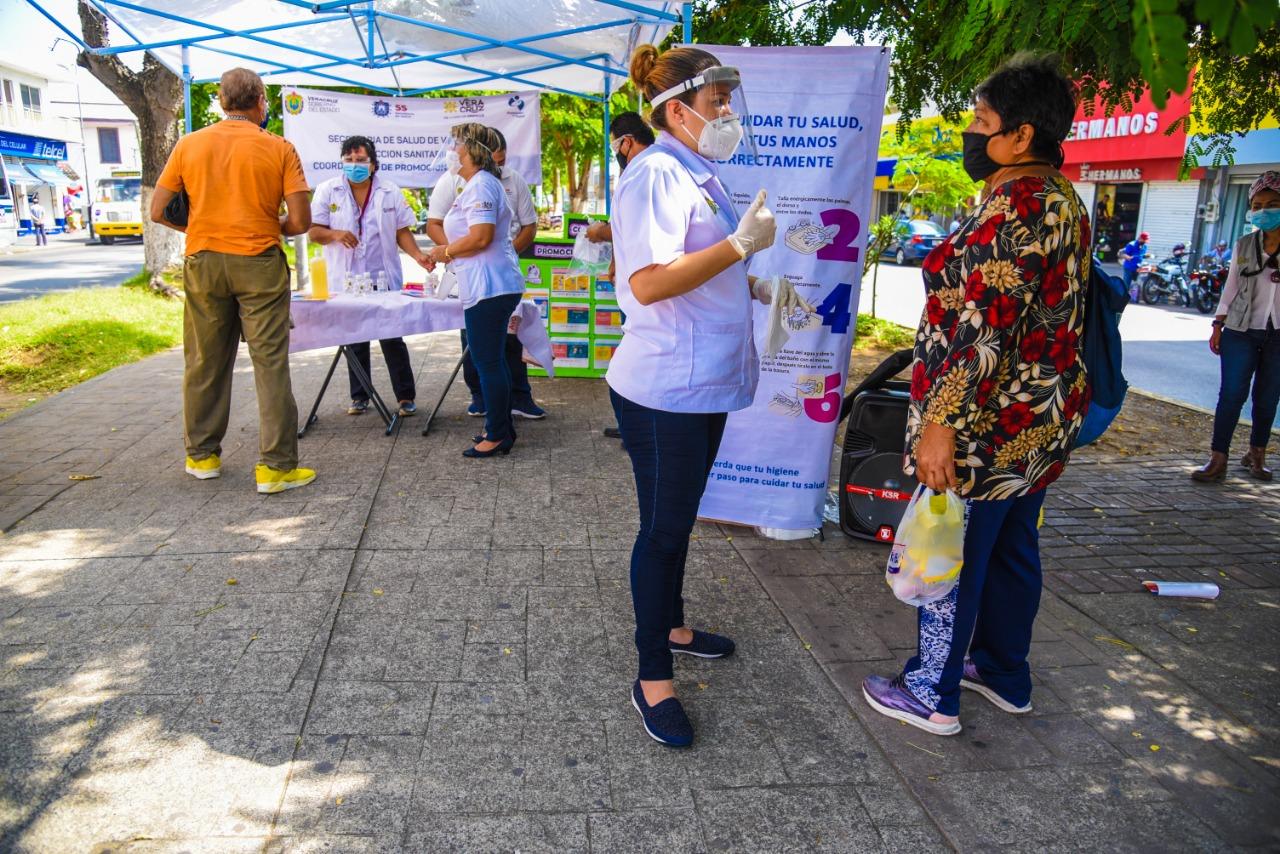 Hay en Veracruz 48,716 casos positivos de COVID-19 y 6,855 fallecidos