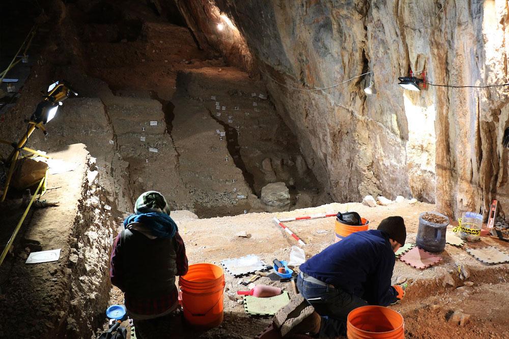 Conservar el contexto arqueológico de la cueva del Chiquihuite, exhorta INAH