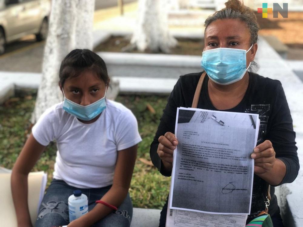 Dulce María Andrade denuncia que IMSS extravió cadáver de su esposo fallecido por COVID-19