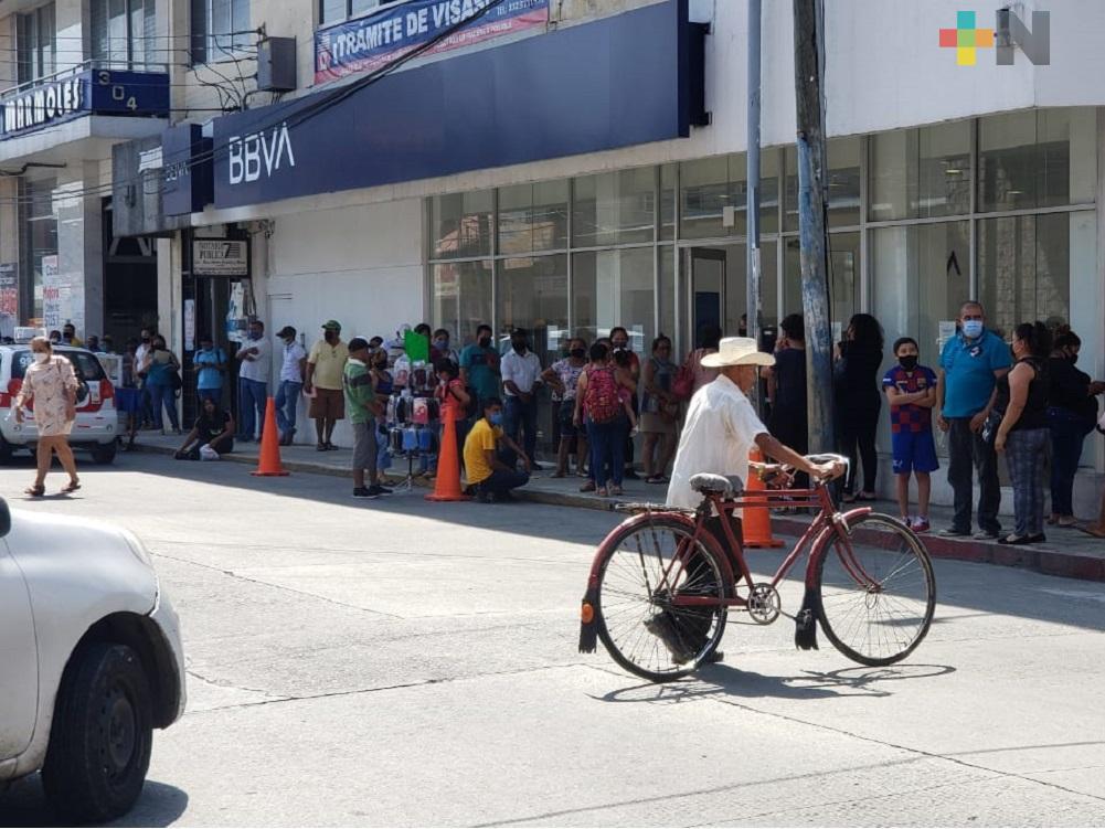 En zona norte-centro de Veracruz, aumentan de manera alarmante casos de COVID-19