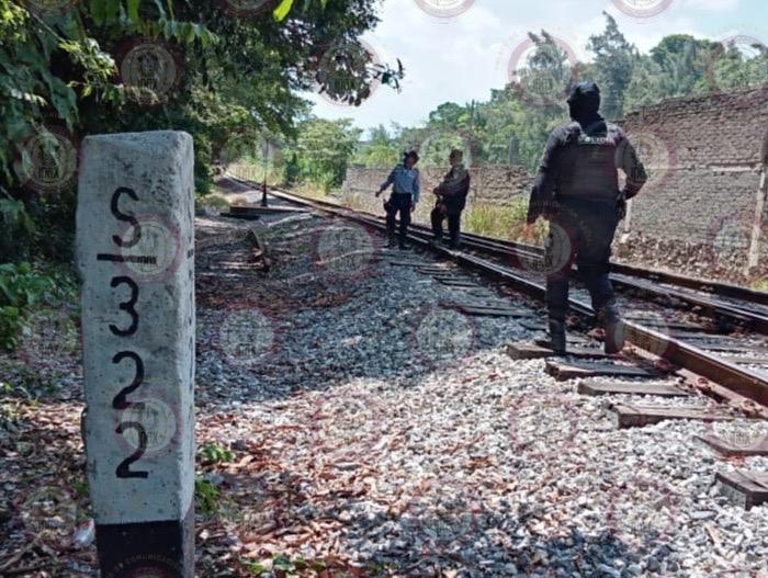 Frustra IPAX robo de vías del tren, en Amatlán de los Reyes