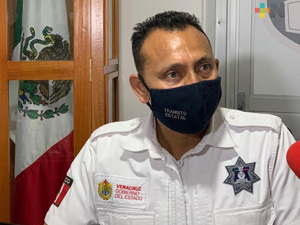 Tránsito de Coatzacoalcos aplicó operativo para evitar arrancones en malecón costero