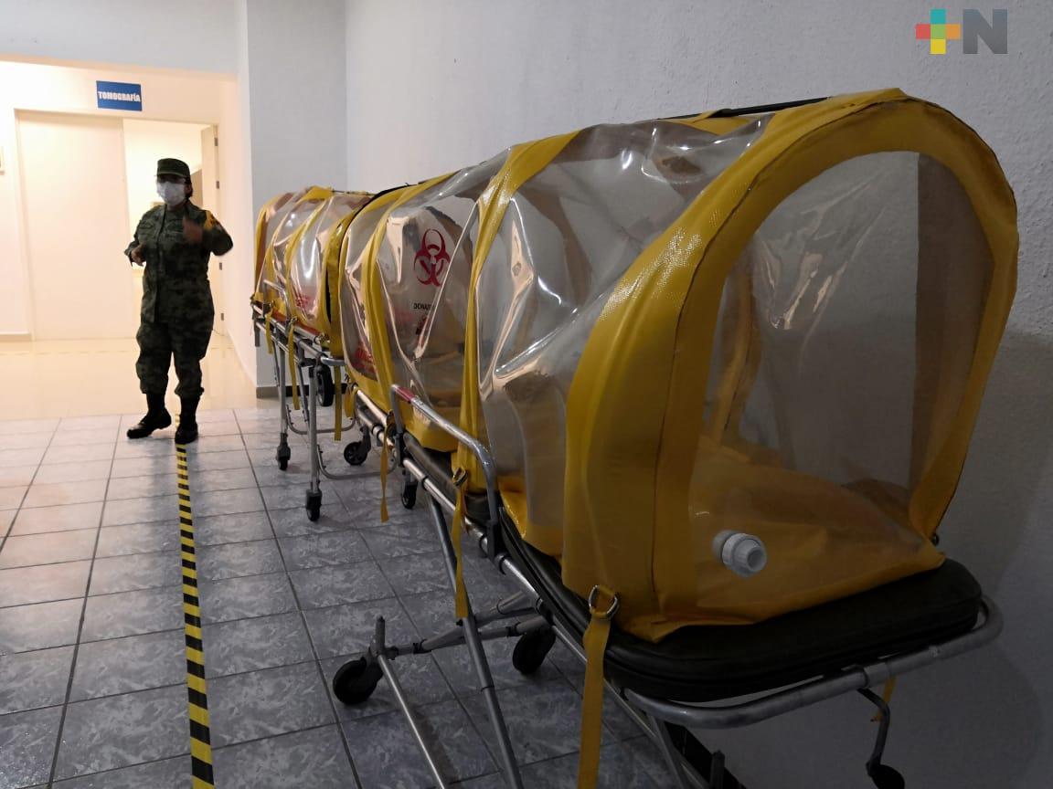Hay 42 mil 645 muertes por COVID-19 en México