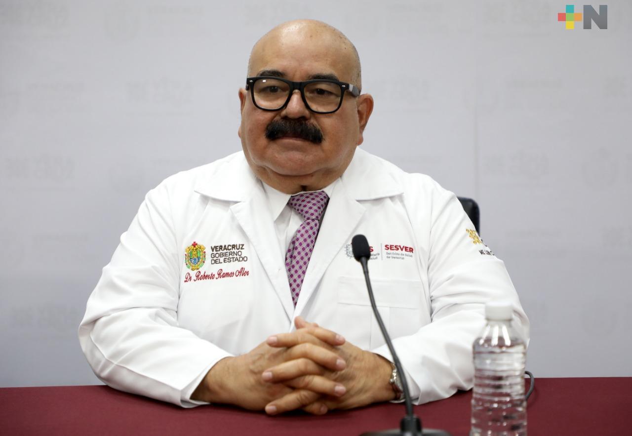 Aunque siga cambiando color de semaforización en Veracruz, persistirá riesgo de contagios: Ramos Alor