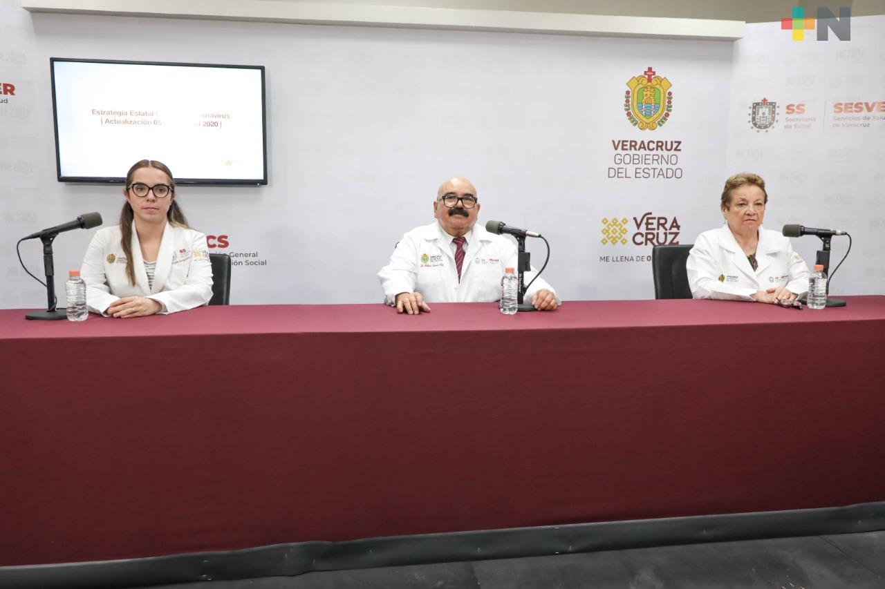 Aumentan a 11 mil 569 los casos positivos de Covid-19 en Veracruz