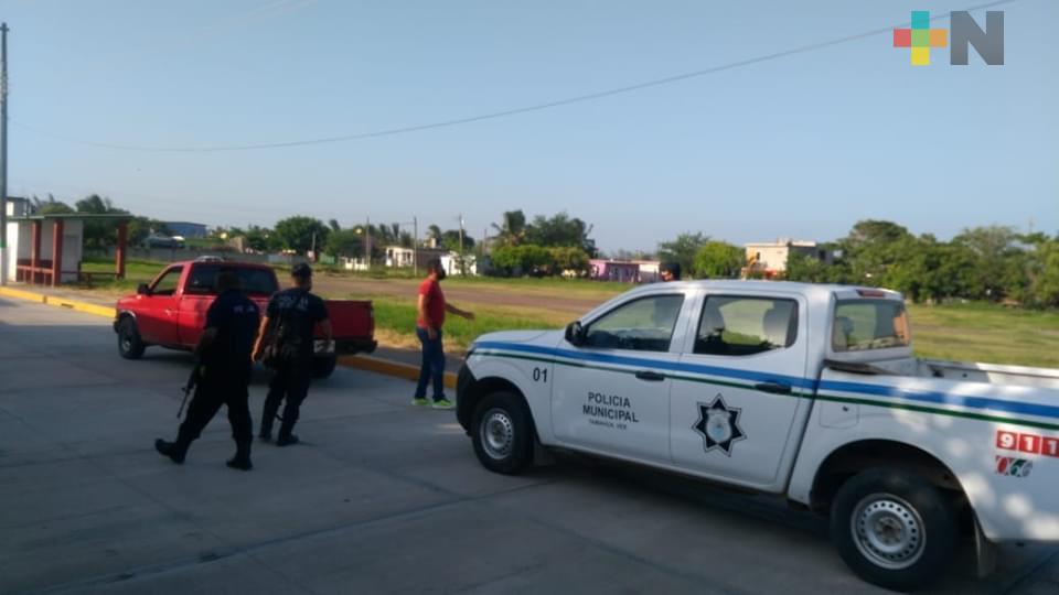 Prohíben actividad física en espacios públicos de Tamiahua