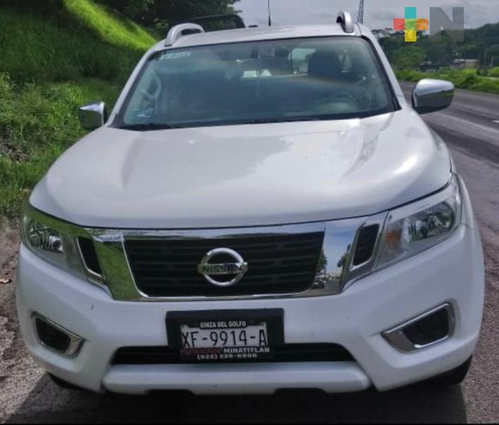 Captura SSP a tres por presunto robo y asegura vehículos en Las Choapas, Minatitlán y Cosoleacaque