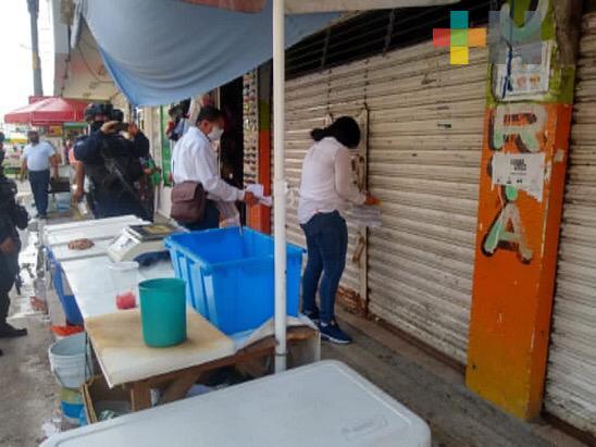 Continúan acciones sanitarias en Cosamaloapan