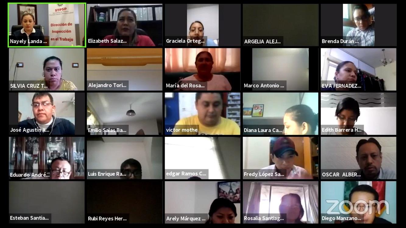 IMSS Delegación Norte Veracruz, realiza seminario virtual sobre afiliación de trabajadores