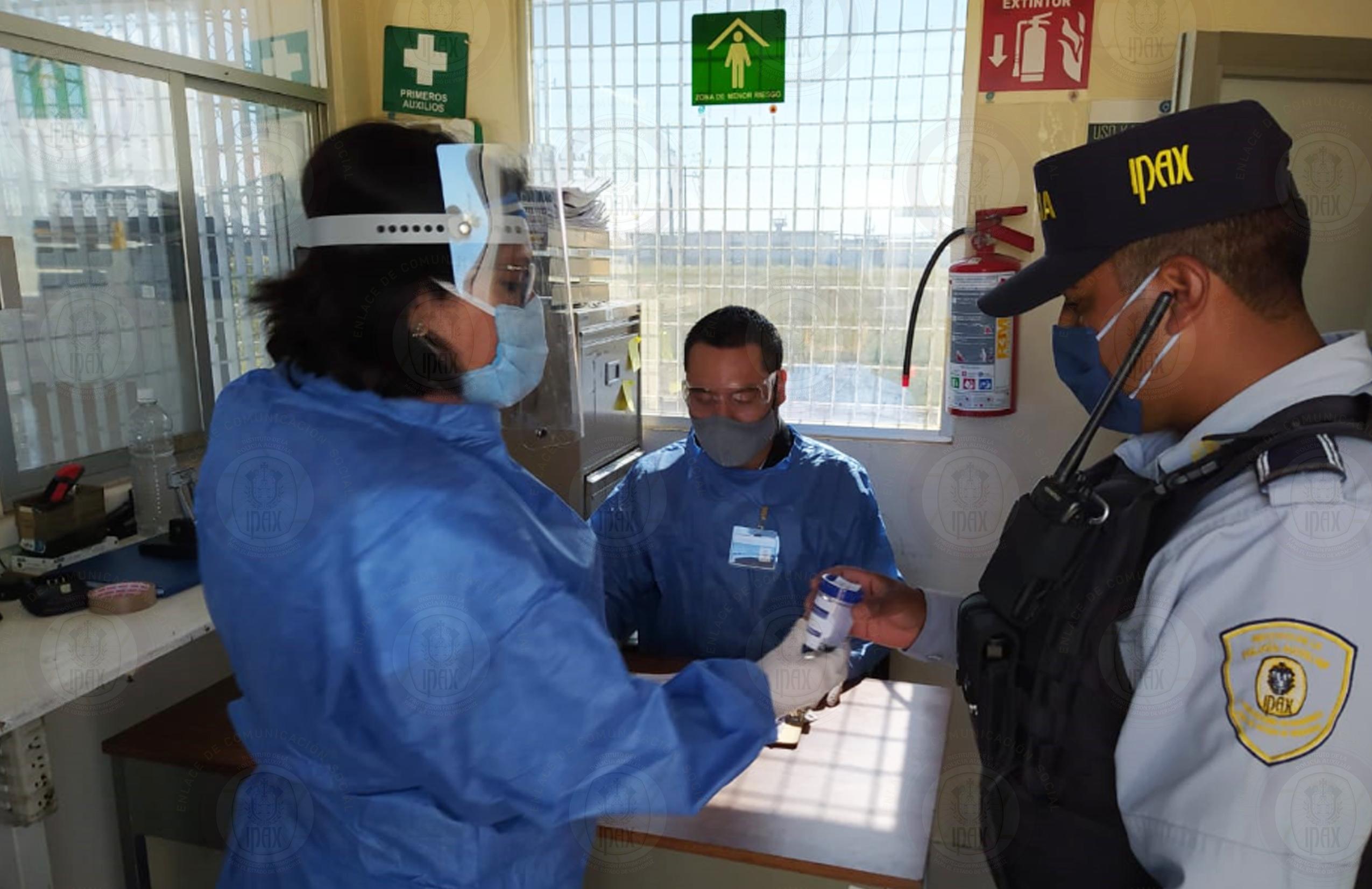 Realiza IPAX examen antidoping a sus policías en todo el estado