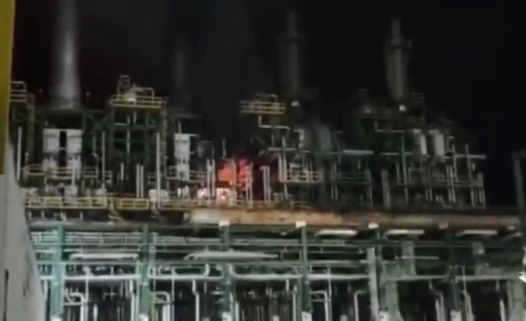 Reportaron incendio en el Complejo Petroquímico Cangrejera; no hubo lesionados