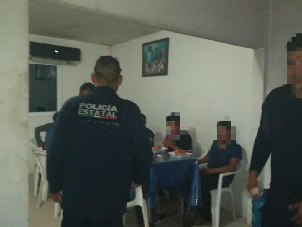 Resguarda SSP a 41 migrantes en Agua Dulce, Ixtaczoquitlán y Jáltipan