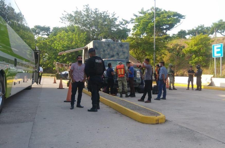 En 20 días, rescató SSP a 244 migrantes en la entidad