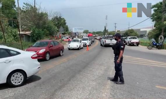 Reducen movilidad de taxis en zona norte del estado para contrarrestar brotes de COVID-19