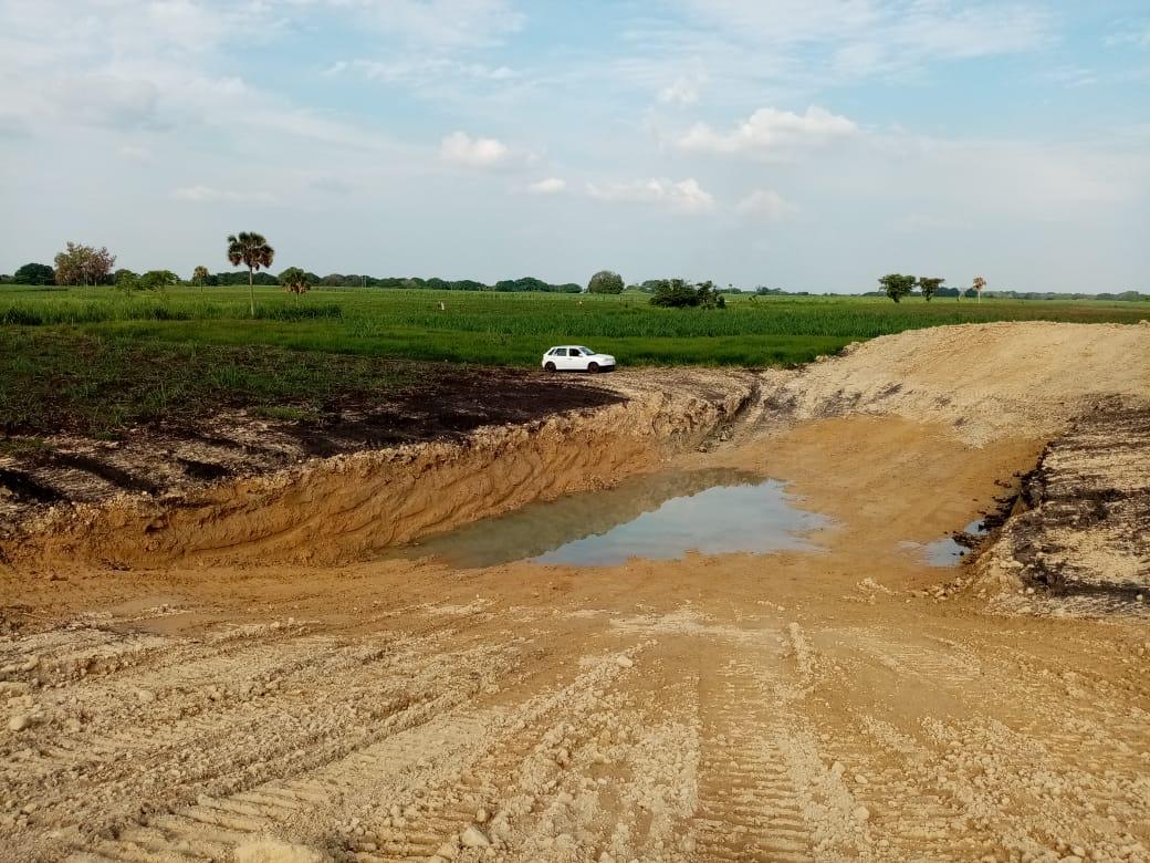 Resultó exitosa la construcción de ollas de agua para productores cañeros y ganaderos